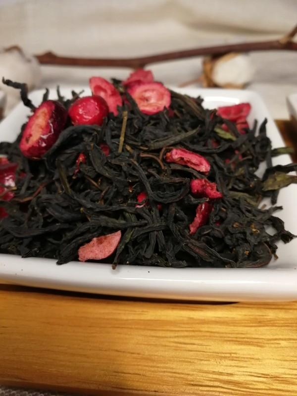 Maitohorsma tee: karpalo 40g / Ivan tea with cranberries