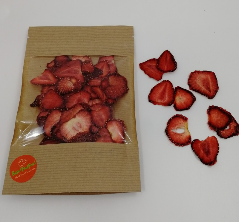 Kuivatut mansikat / Dried strawberries 20g