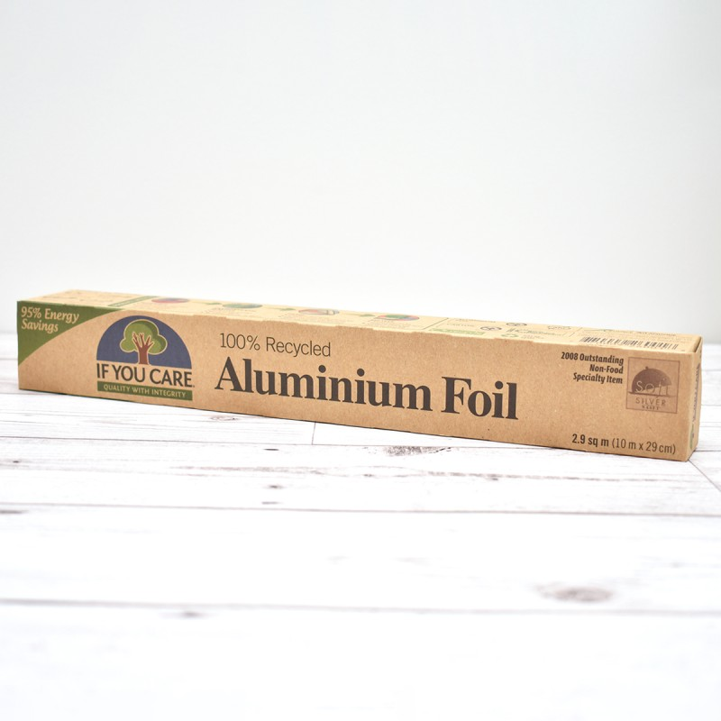 Aluminium Foil | 100% Recycled | If You Care