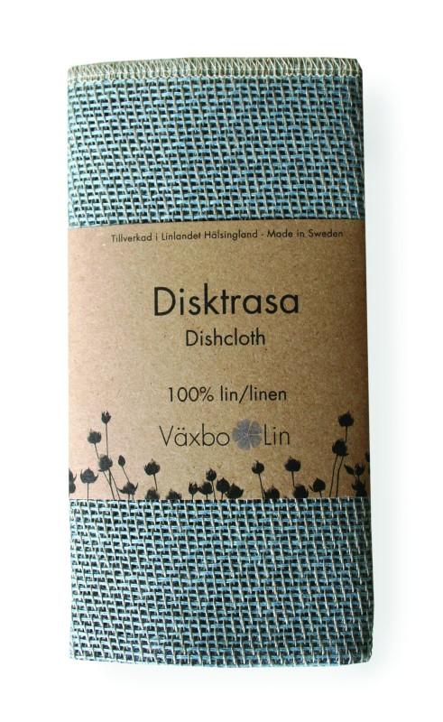 Disktrasa Växbo lin - Ljusblå