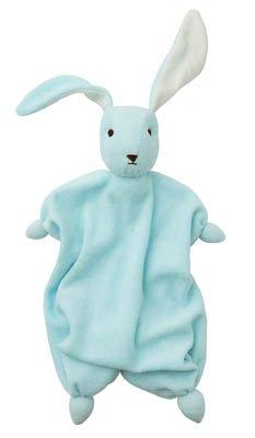 Ekologisk snuttedocka - Ljusblå kanin