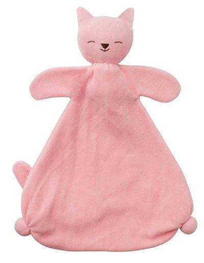 Ekologisk snuttedocka - Rosa katt