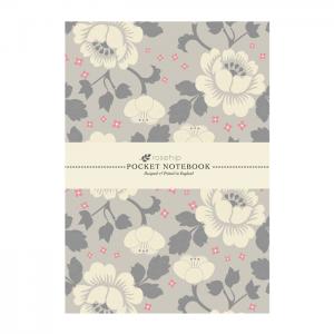 Anteckningsbok - Vita blommor
