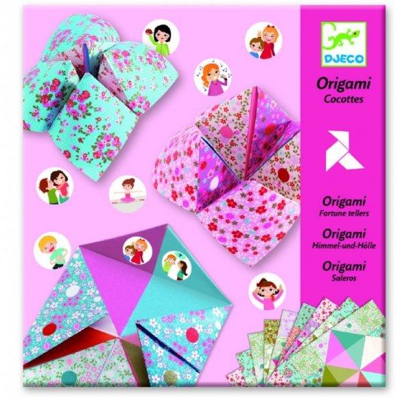 Origami Rosa loppor