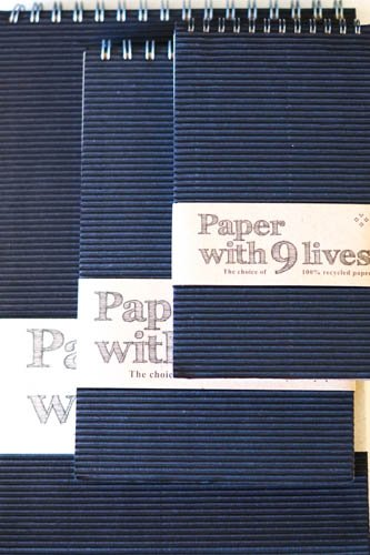 Stort skissblock i återvunnet papper