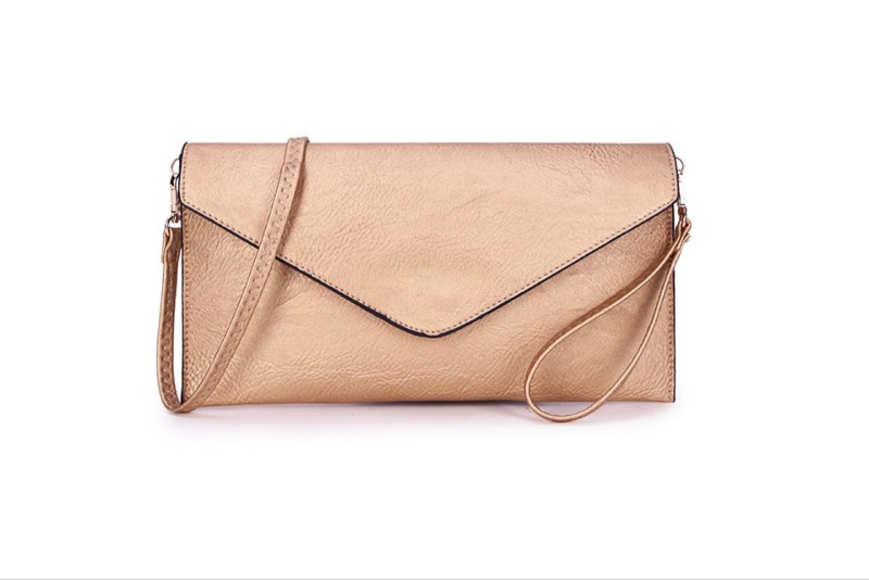 Envelope Clutch Bag - Rose Gold