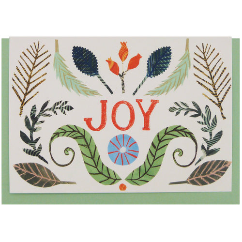 Joy card by Hadley Paper Goods