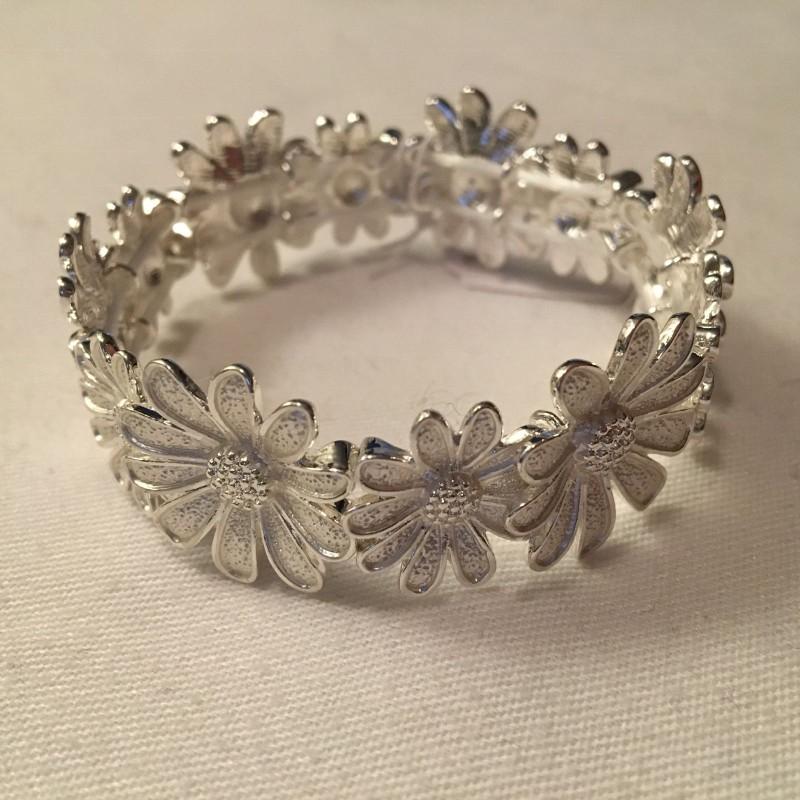 Daisy Bracelet - Silver