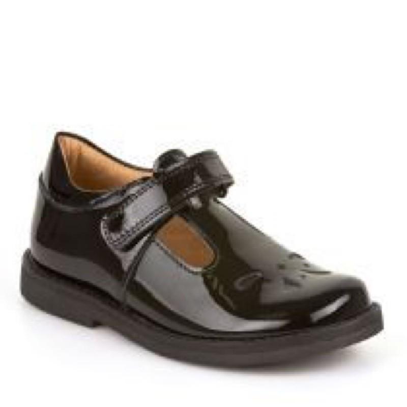Froddo Black Patent Shoe G3140073-1a