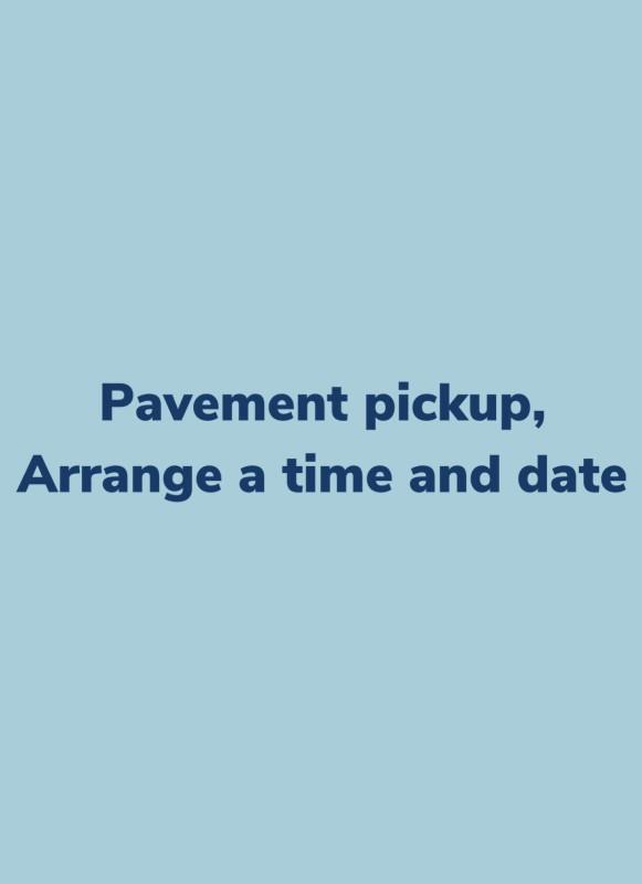Pavement pickup