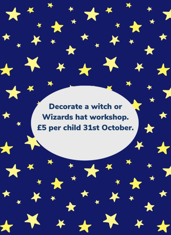 Decorate a witch or wizards hat