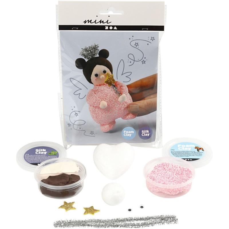 Foam Clay Fairy ready to kit.