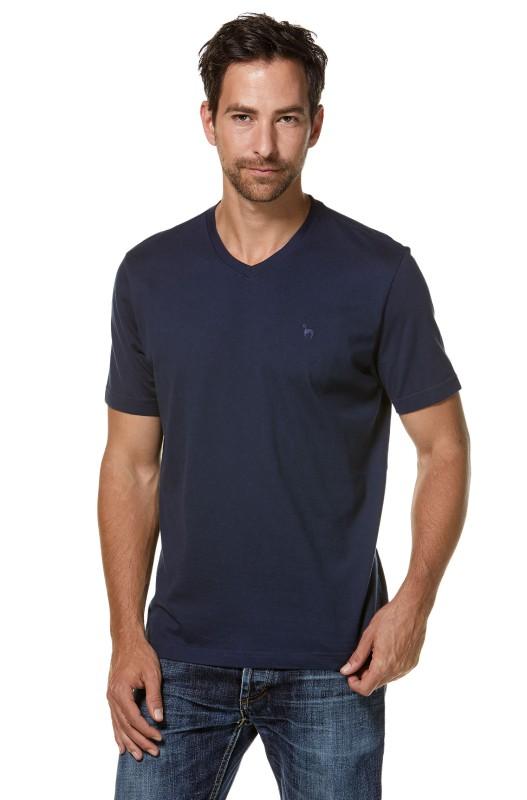 Mens Royal-Shirt V-Neck - Blue