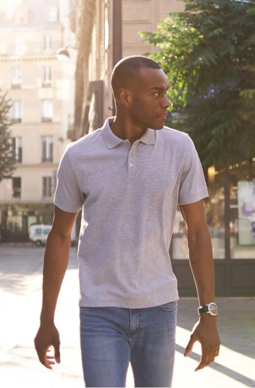 Polo Shirt Mens - Grey