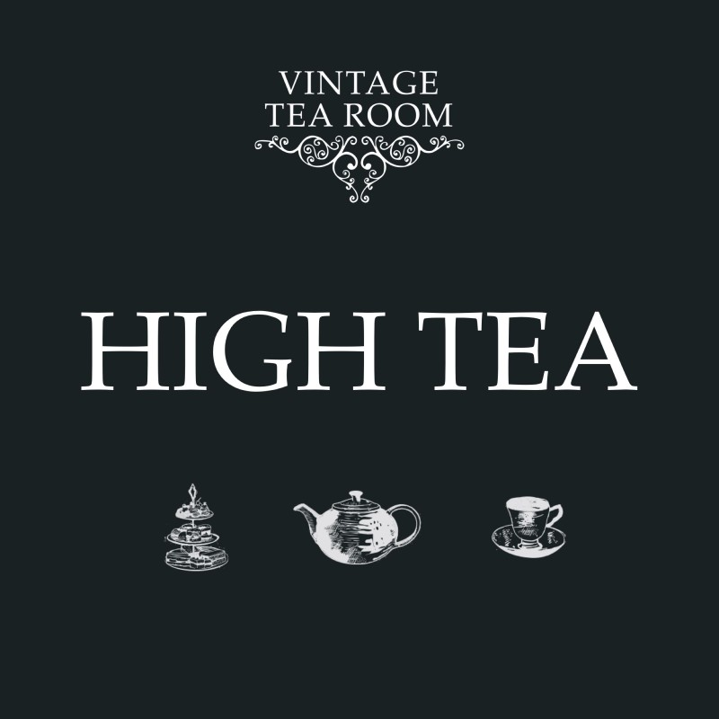 Vintage High Tea For One - Voucher