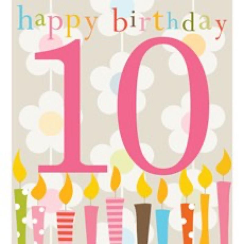 10th Birthday (KID40)