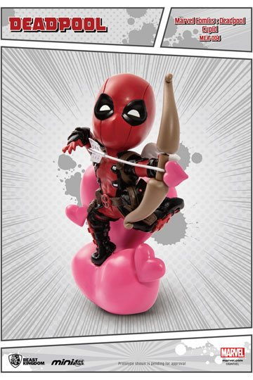 Marvel Comics Mini Egg Attack Figure Deadpool Cupid 10 cm