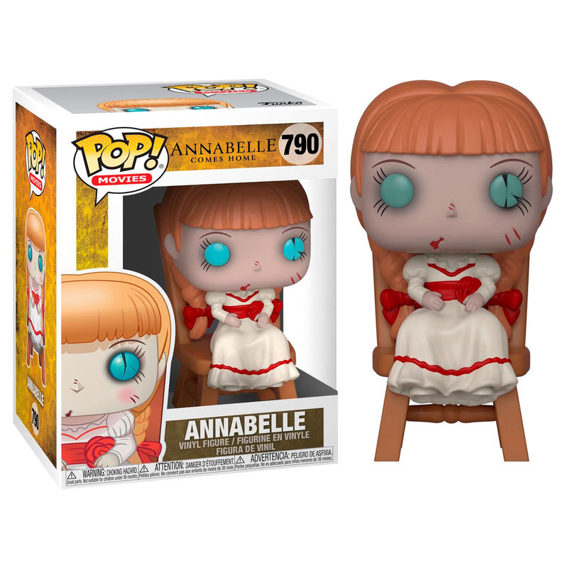 Movies 790 - Annabelle on Chair