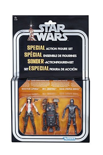 Star Wars Premium Vintage Collection Action Figure 3-Pack Doctor Aphra Comic Exclusive 10 cm