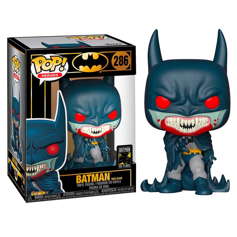 Funko Pop - DC 286 Batman 80th Red Rain - På lager uge 42