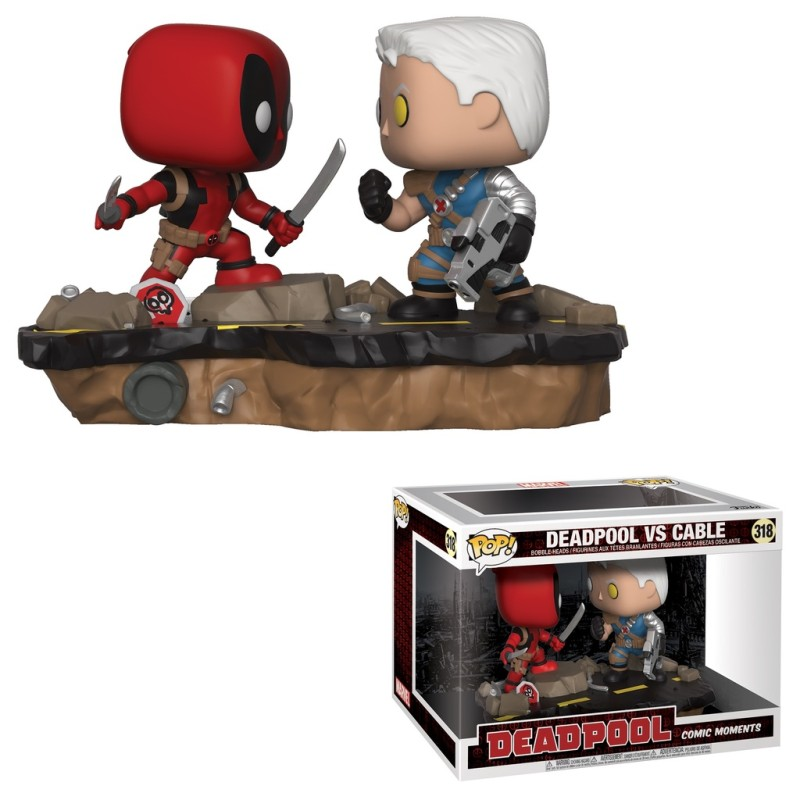 Marvel 318 - Deadpool vs cable