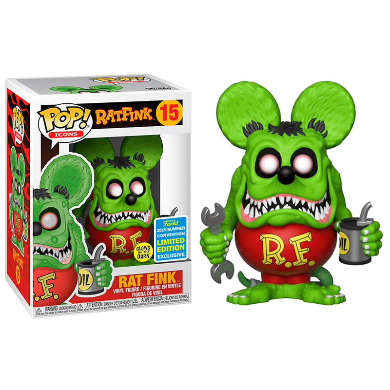 Icons 15 - Rat Fink - Summer Convention