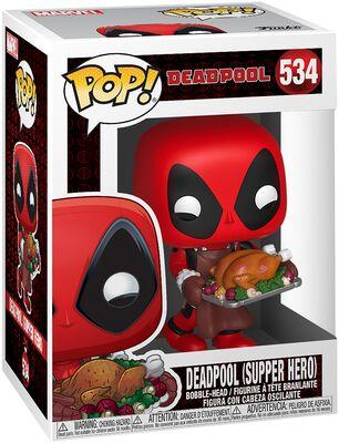 Funko Pop - Marvel 534 Deadpool Supper Hero - På lager uge 42