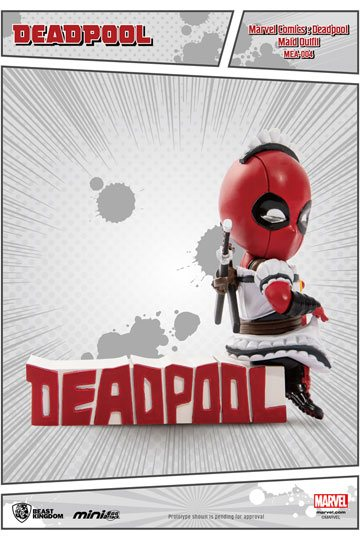 Marvel Comics Mini Egg Attack Figur Deadpool Servant 9 cm