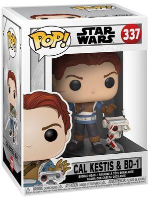 Funko Pop - Star Wars 337 Cal Kestis & BD-1 - På lager uge 42