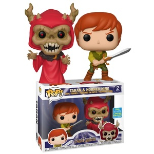 Disney 2-Pack - Black Cauldron Taran & Horned King