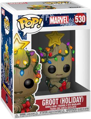 Funko Pop - Marvel 530 Groot Holiday - På lager uge 42