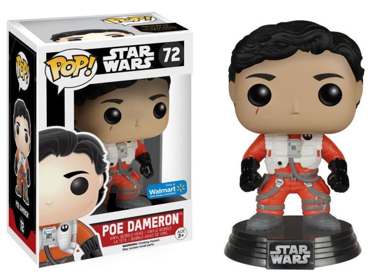 Star Wars 72 - Poe Dameron - Walmart Excl
