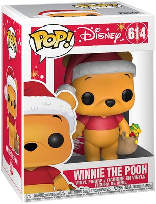 Funko Pop - Disney 614 Winnie The Pooh Holiday - På lager uge 42