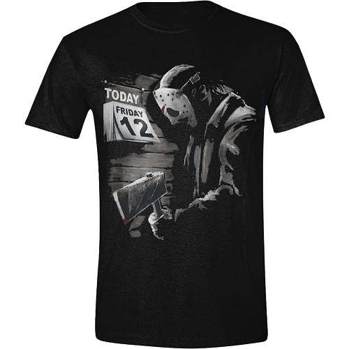 Friday the 13th - Friday 12th Sad T-Shirt - På lager uge 43