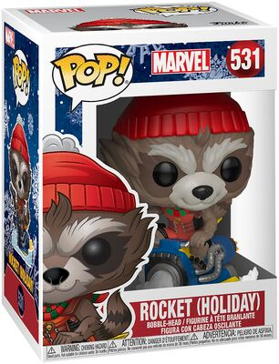 Funko Pop - Marvel 531 Rocket Holiday - På lager uge 42