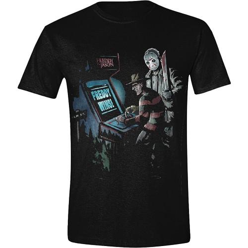 Freddy vs Jason - Arcade T-shirt - Pålager uge 43