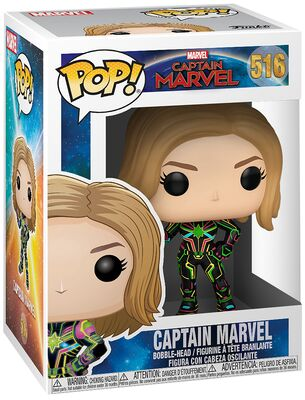 Funko Pop - Marvel 516 Captain Marvel - På lager uge 42