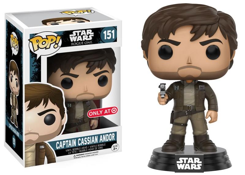 Star Wars 151 -Captain Cassain Andor - Target Excl
