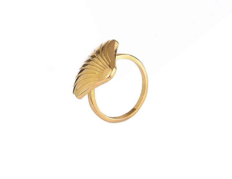 Muschel - Ring gold