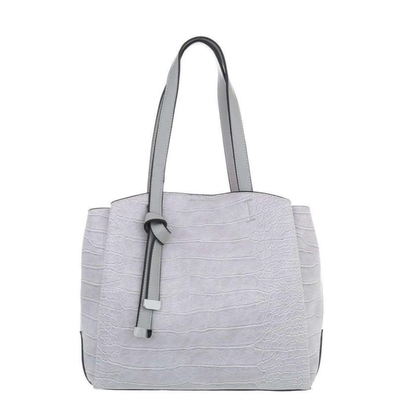 Damen Schultertasche grey