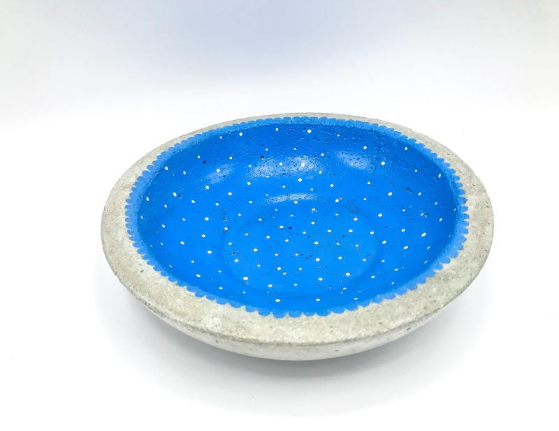 "Schale ""Blue dots"""