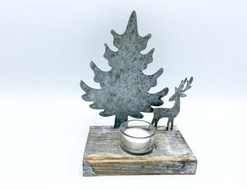 """Teelichthalter """"Märchenwald"""""""