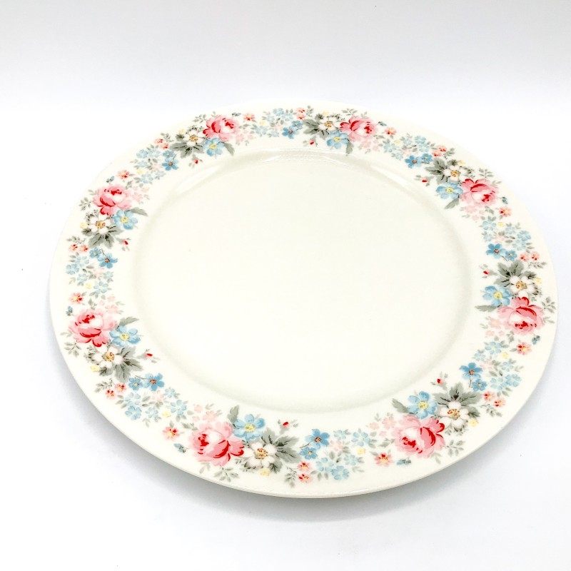 GREENGATE Dinner Plate Marie pale grey