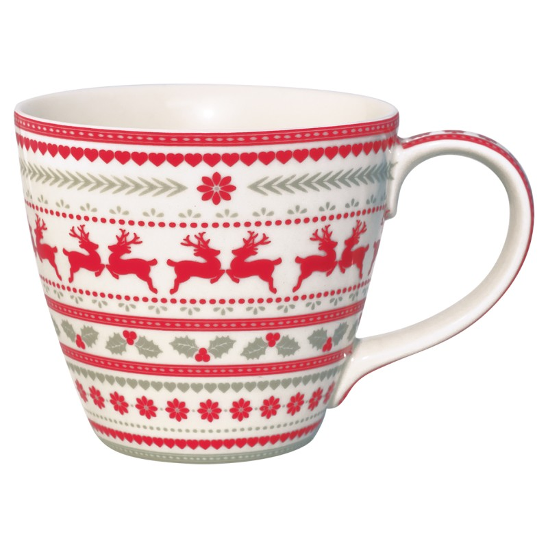 GREENGATE Mug Ivy white