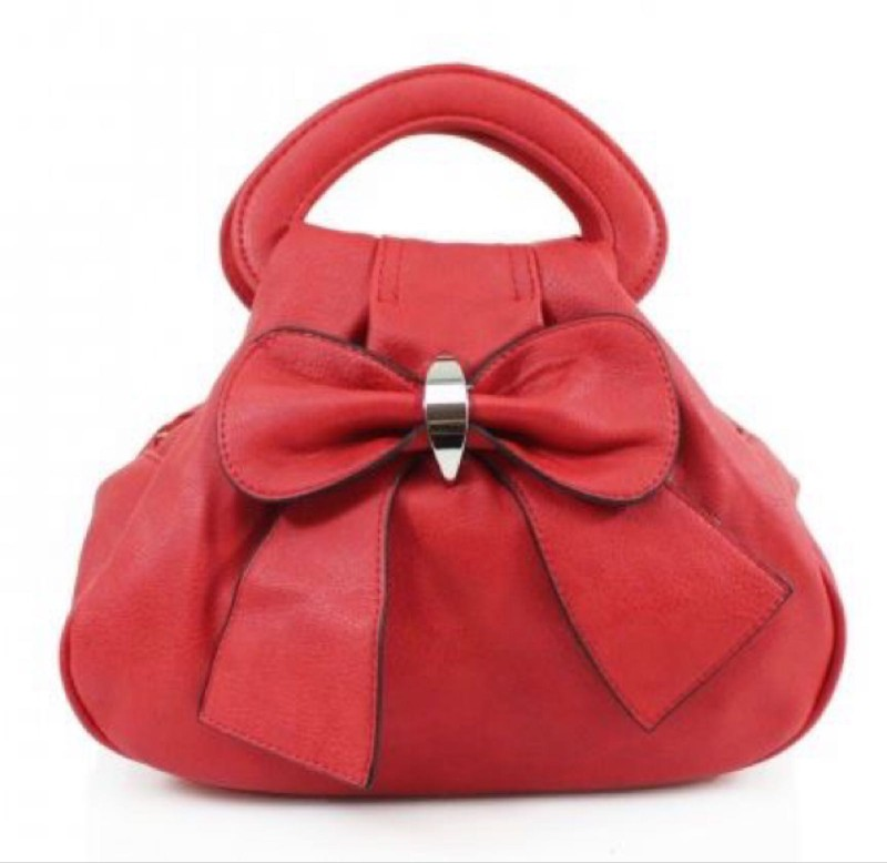 Bow Bag - Red