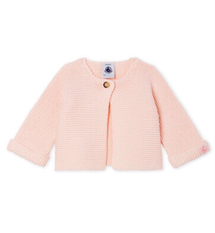 Petit Bateau Pink Cardigan
