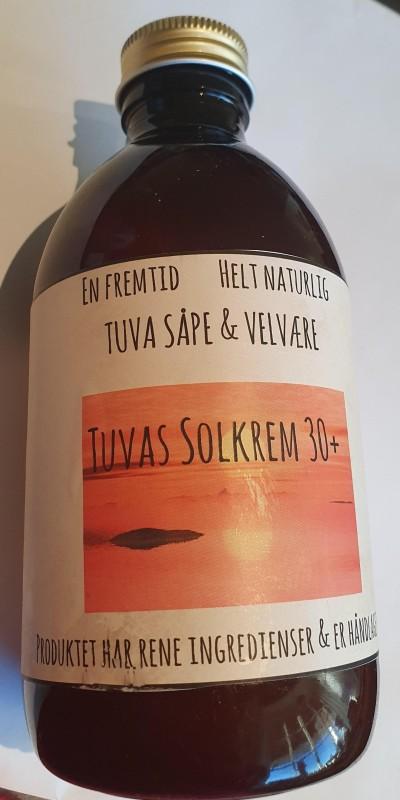 Solkrem SPF 30+ HIBISCUS & RABARBRA 300 ml