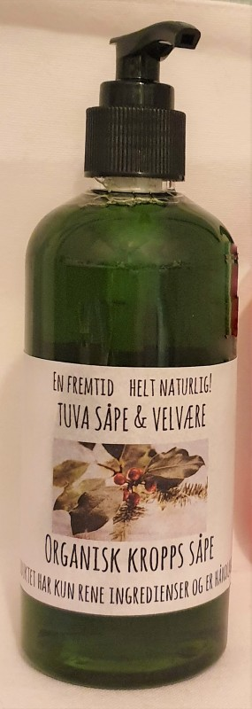 Tuvas organisk Julesåpe Grønn CHRISTMAS SPICE