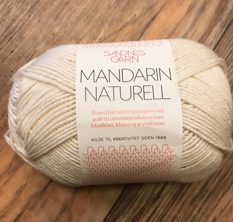 garnet Mandarin naturell