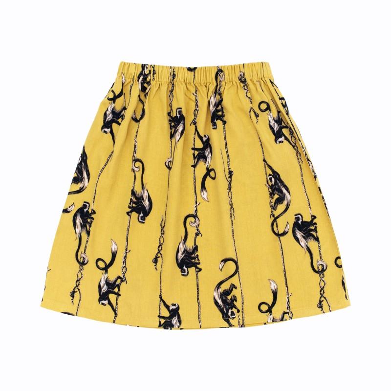 Rufus skirt mustard